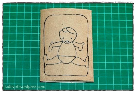 יצירת משה בתיבה מגליל נייר טואלט