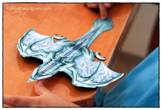 ערכת יצירה של דרקונים מעופפים